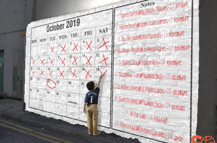 Le dieci partite NBA da segnare in rosso sul calendario