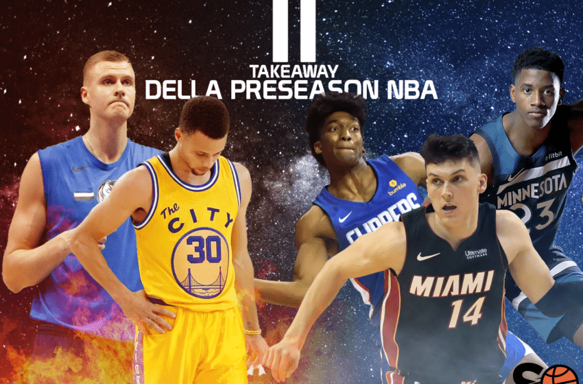 Cosa portarci a casa dalla Preseason NBA?