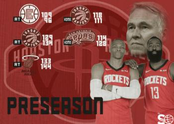 Preseason Rockets