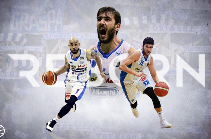 La forza di rinascere: Treviso Basket è tornata