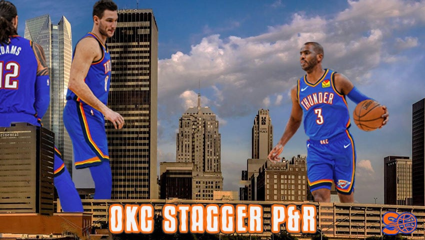 OKC Thunder: stagger P&R e variazioni