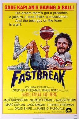 "Locandina del film ""Fast Break""."