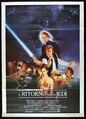 """Locandina italiana de """"Il Ritorno dello Jedi""""."""