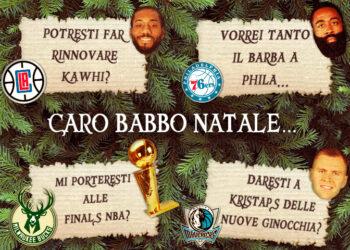 Babbo Natale NBA
